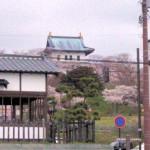 港から松前城
